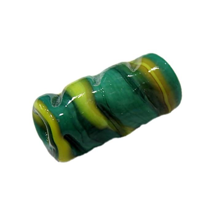 firma de murano mola verde\ amarelo- FM080