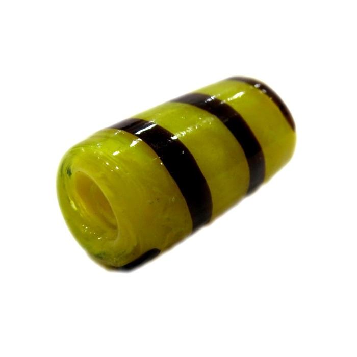 Firma de murano GG amarelo\ marrom- FM100