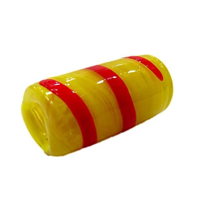 Firma de murano GG amarelo\ vermelho- FM102