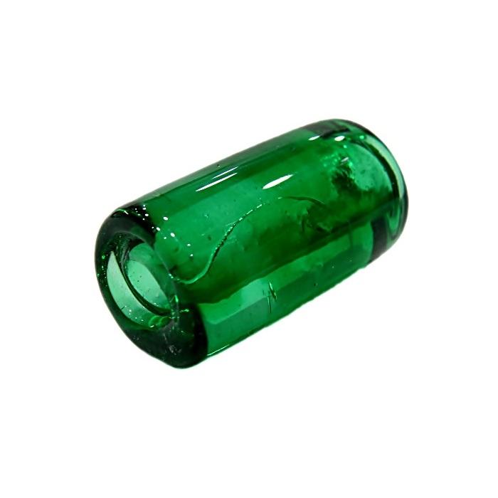 Firma de murano GG verde transparente- FM118