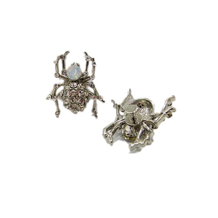 Piercing Aranha níquel (Par)- PIN029