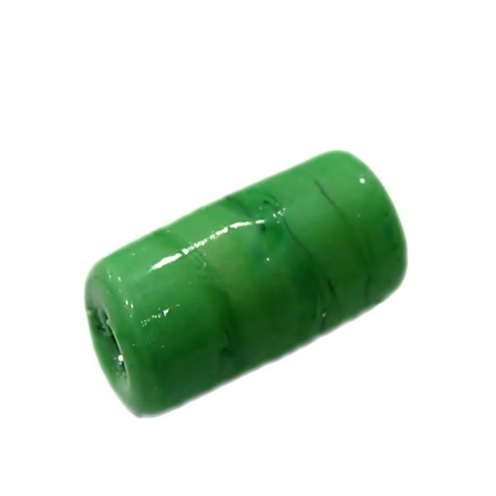 Firma de murano GG verde leitoso claro- FM123