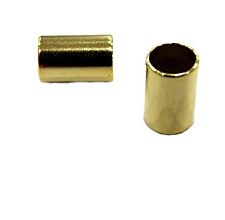 Entremeio DOurado Caninho P -ED024-30 peças