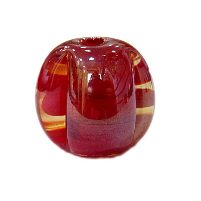 Pitanga de murano GG vermelho irisado- MU391