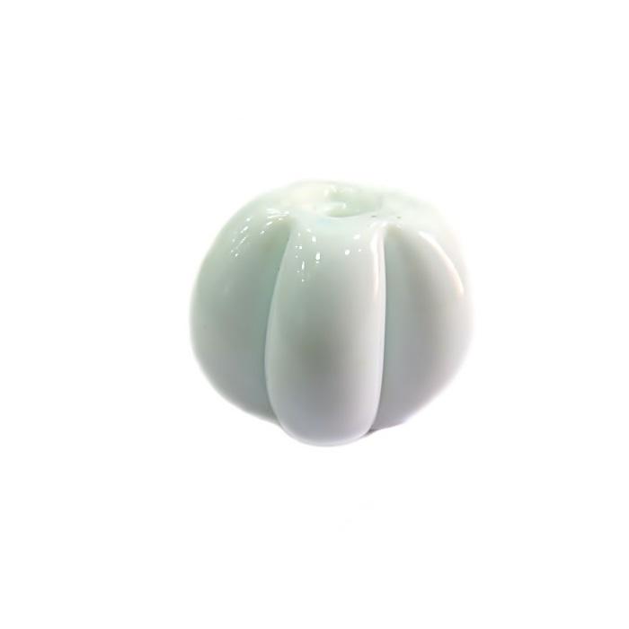 Pitanga de murano G branco leitoso  MU407