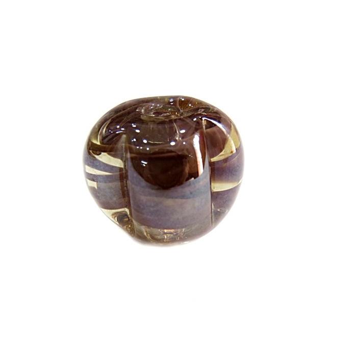 Pitanga de murano G lilás irisado- MU410