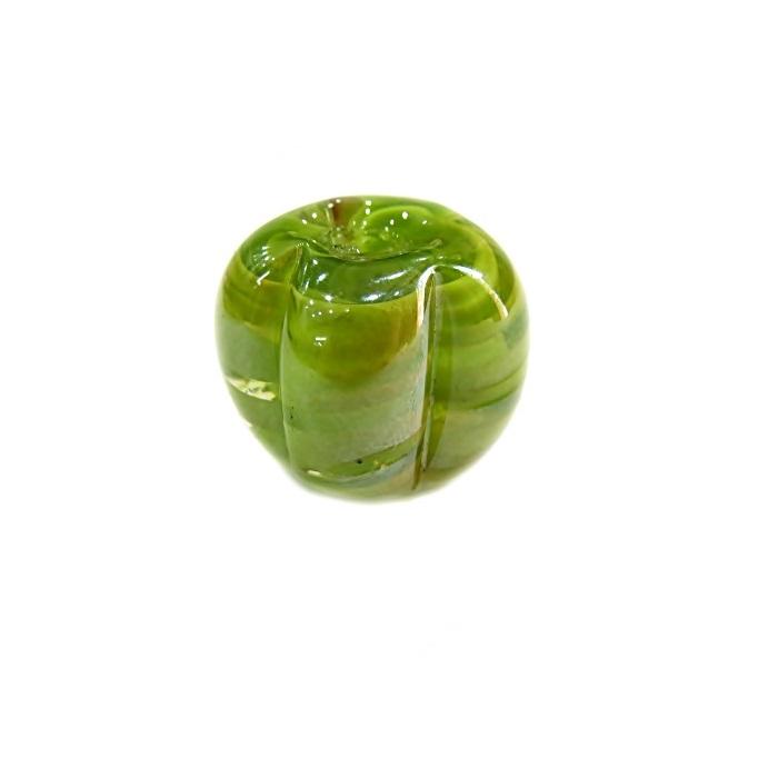 Pitanga de murano G verde pistache irisado- MU412