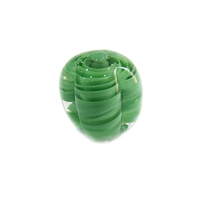 Pitanga de murano G verde  abacate - MU426