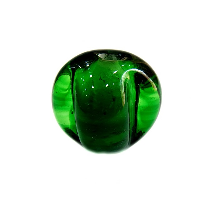 Pitanga de murano G verde transparente escuro - MU428