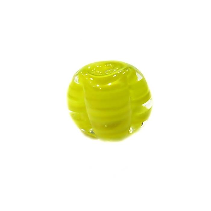 Pitanga de murano G amarela- MU440
