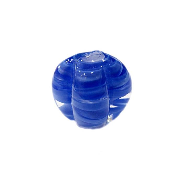 Pitanga de murano G azul royal claro- MU442