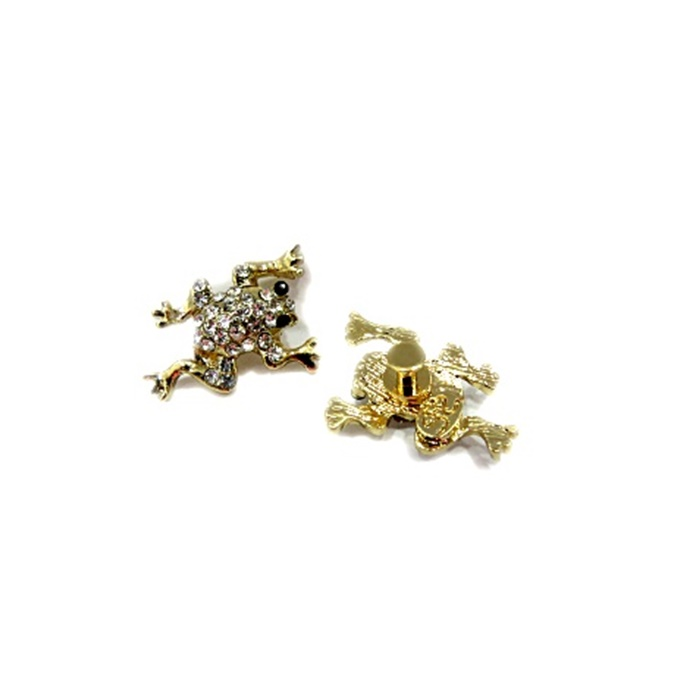 Piercing Sapo dourado (Par)- PID065