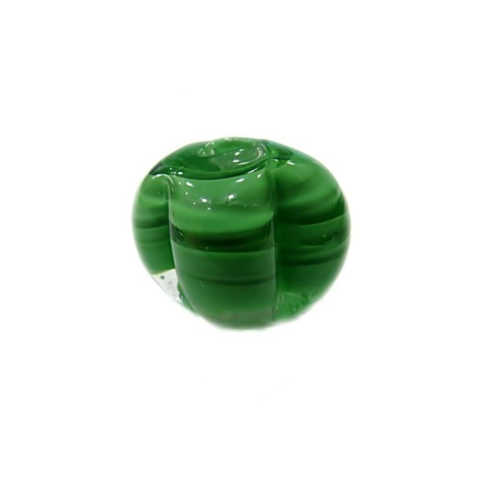 Pitanga de murano G verde- MU459