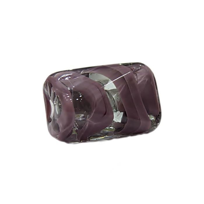 Facetado de murano GG lilás cristal- MU505