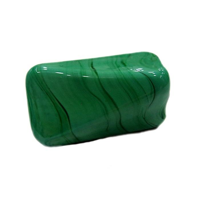 Facetado de murano GG verde- MU518