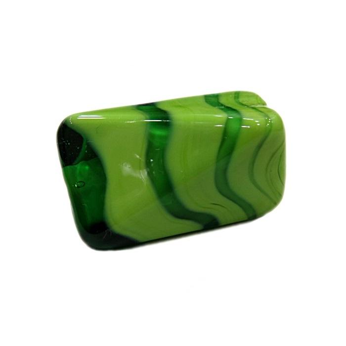 Facetado de murano GG verde pistache/ verde- MU520