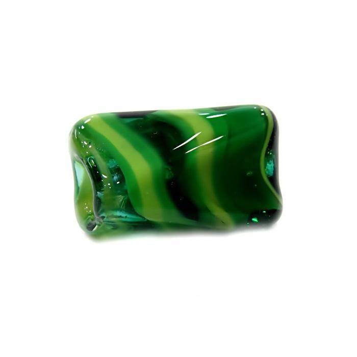 Facetado de murano GG verde/ verde pistache- MU522