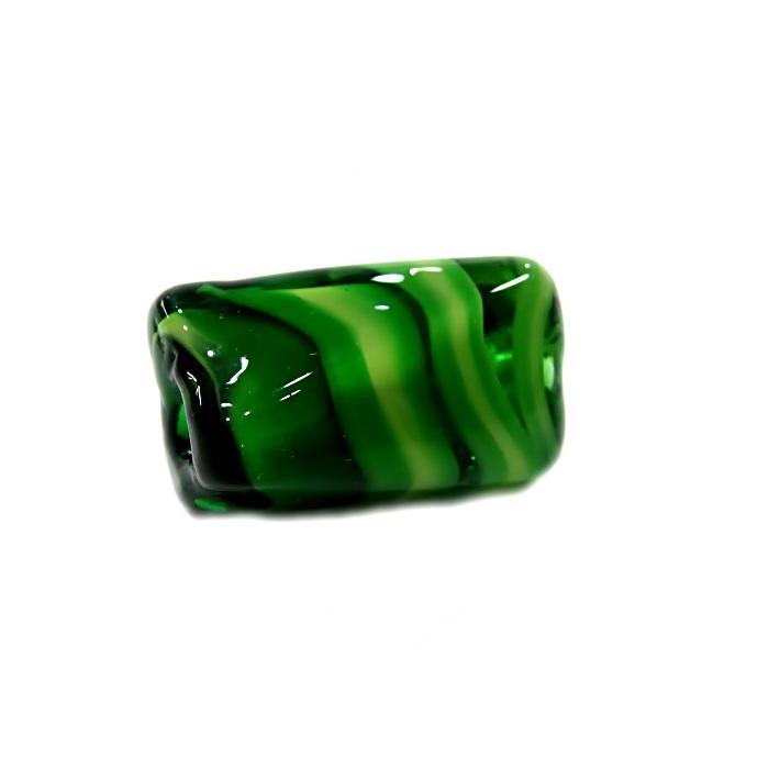 Facetado de murano G verde/ verde pistache- MU560