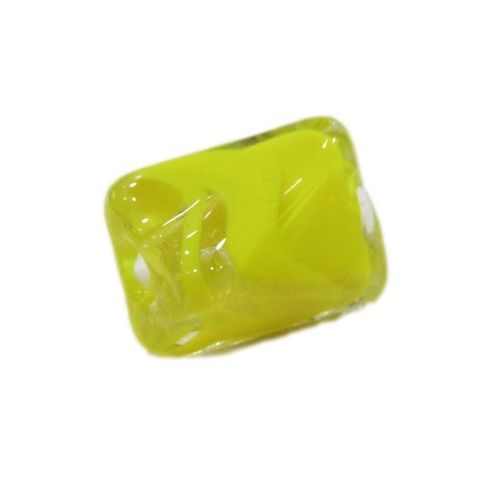 Facetado de murano M amarelo-MU564