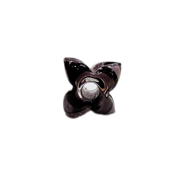 Estrela de murano lilás/ roxo- MU599
