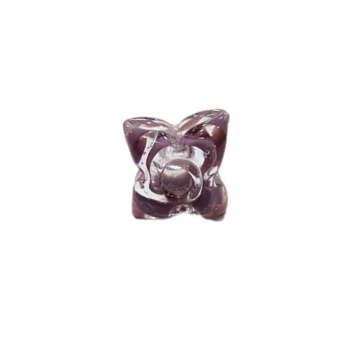 Estrela de murano lilás- MU605