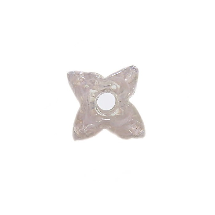 Estrela de murano rosa- MU606