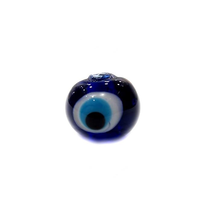 Olho grego M azulão/ turquesa- OG054