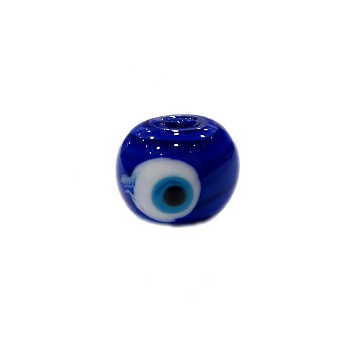 Olho grego M azul royal/ turquesa- OG060