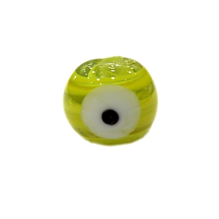 Olho grego M amarelo- OG063