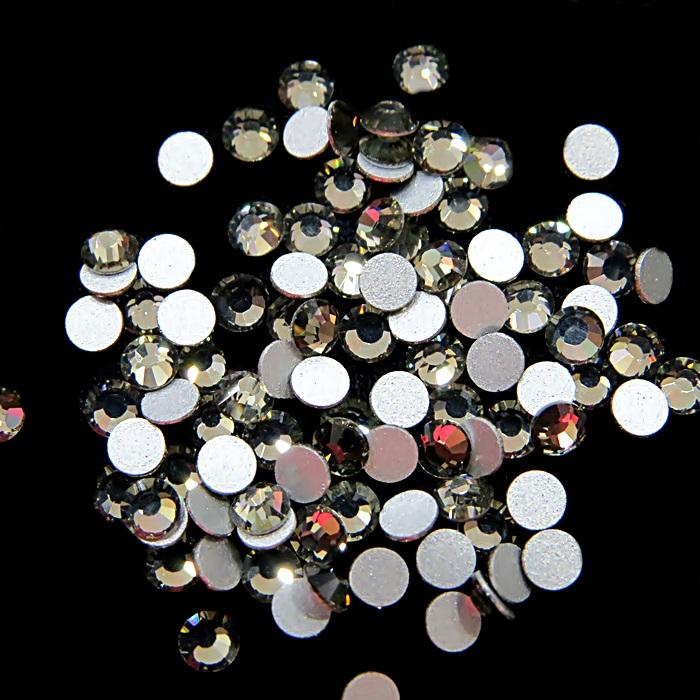 Chaton de cristal black diamond SS12 (100 unidades)- CCH001 ATACADO