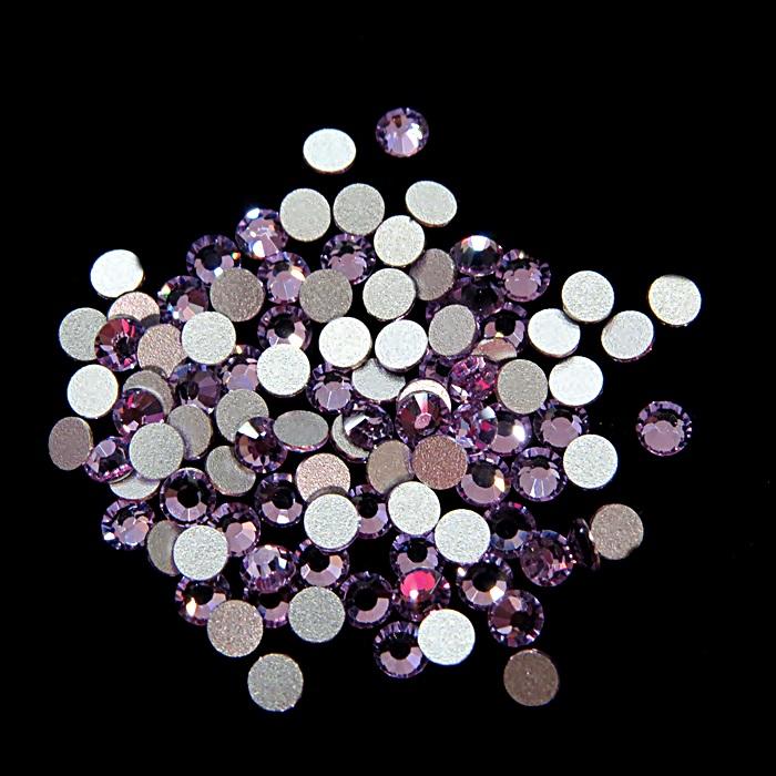 Chaton de cristal light amethyst SS12 (100 unidades)- CCH005 ATACADO