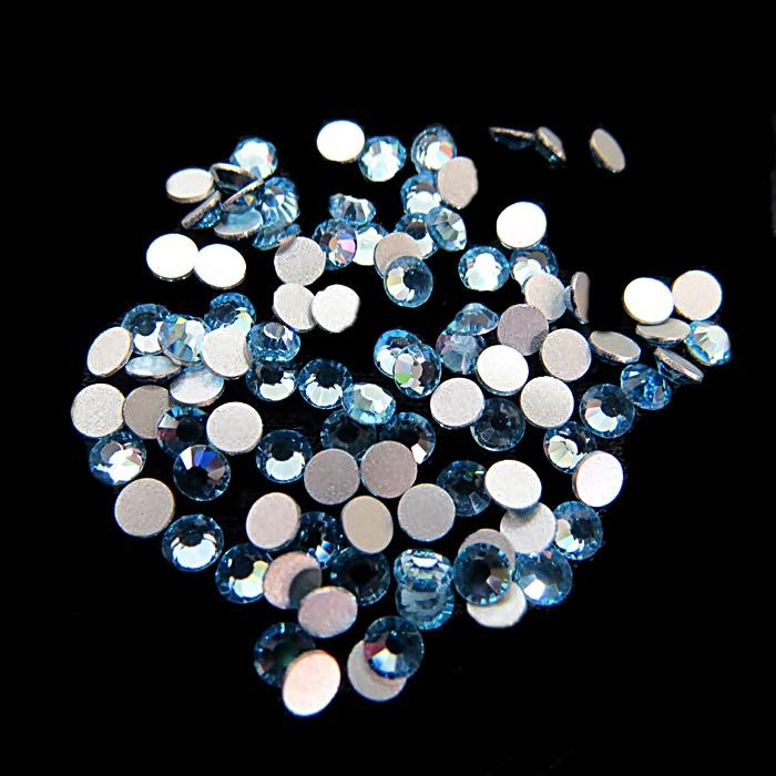 Chaton de cristal light saphire SS12 (100 unidades)- CCH007 ATACADO