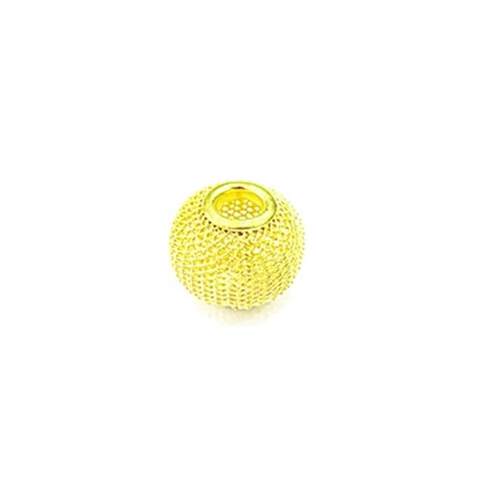Berloque Dourado Bola Renda P BED010