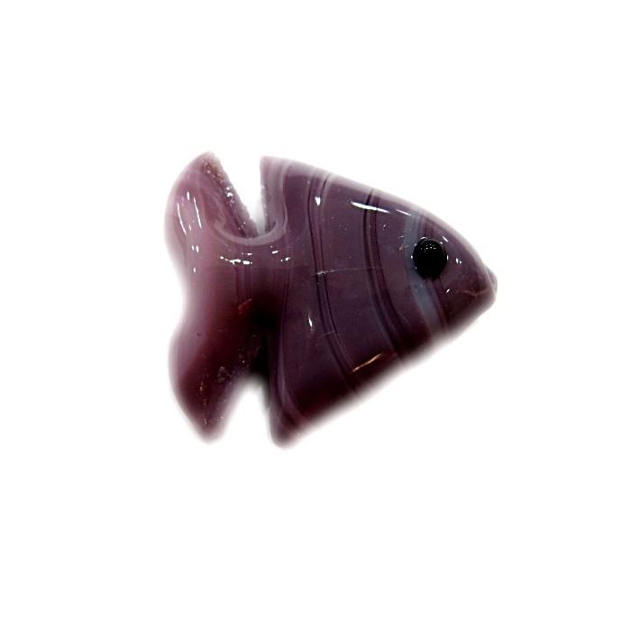 Peixe de murano lilás (10 unidades)- MU622