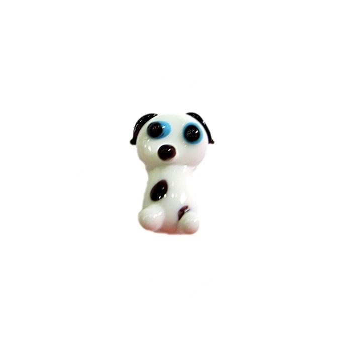 Cachorro de murano branco- MU670