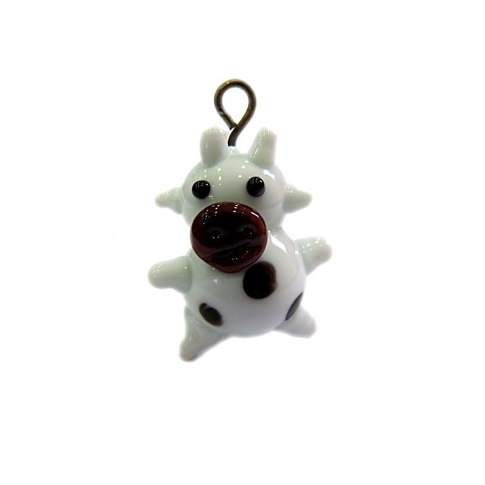 Vaca de murano branca- MU672