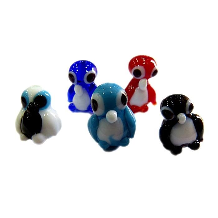 Pinguim de murano (10 unidades)- MU676