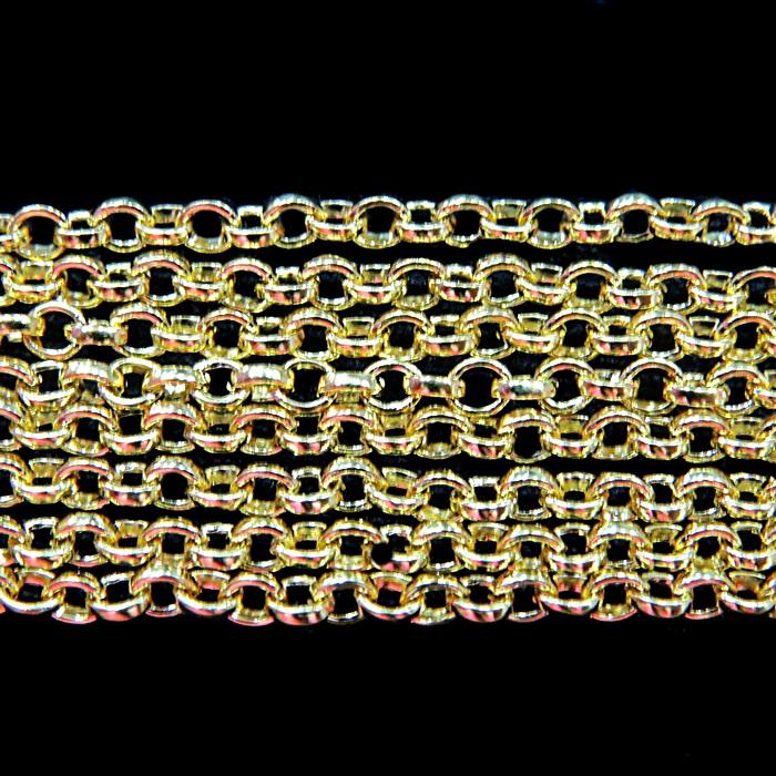 Corrente dourada guarana P (10 metros)- COD002