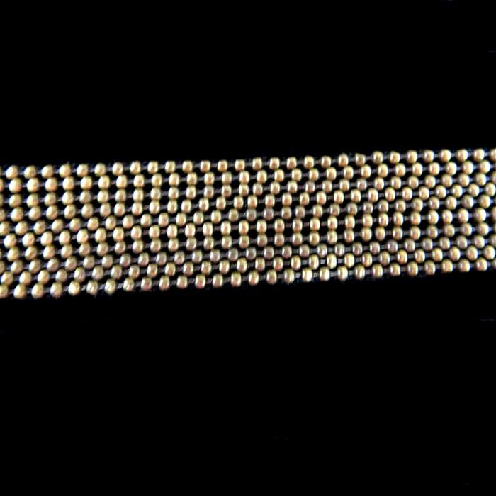 Corrente ouro velho de bolinha P (10 metros)- COO009