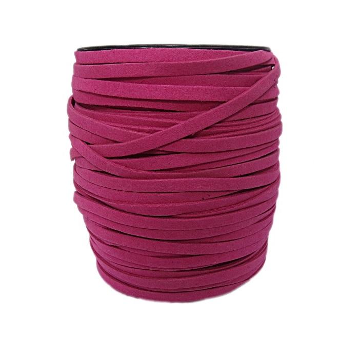 Camurça 5mm pink (100 metros)- CG004 ATACADO