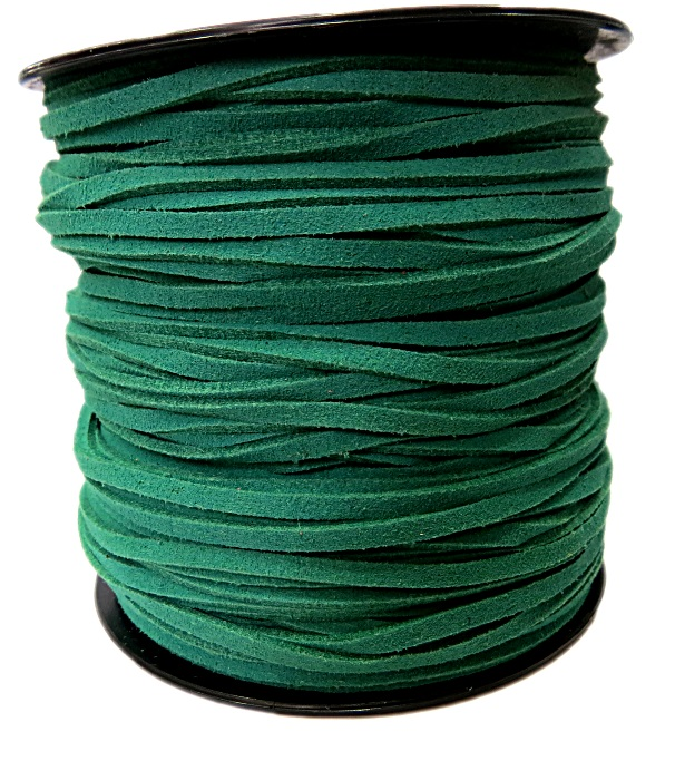 Camurça 3mm verde (10 metros)- CG036
