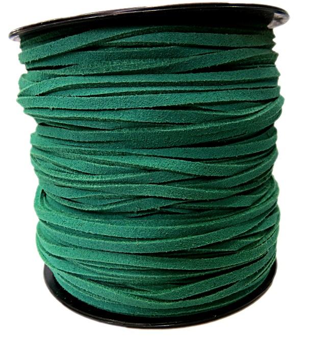 Camurça 3mm verde (100 metros)- CG036 ATACADO
