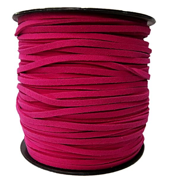 camurça 3mm pink (100 metros)- CG039 ATACADO