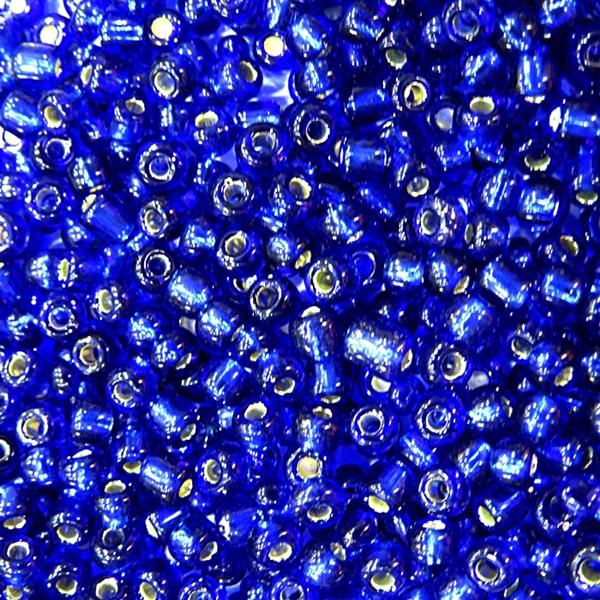 Miçanga chinesa azulão metalizado (50 grs)- MIÇ003
