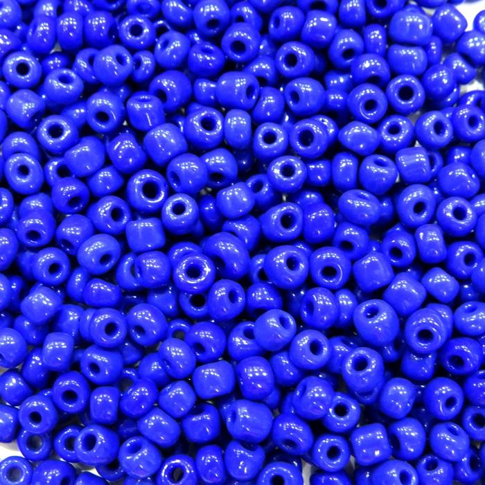 Miçanga chinesa azul royal (500 grs)- MIÇ009 ATACADO