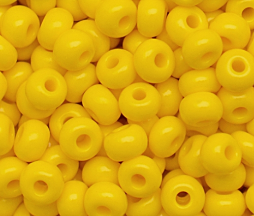 Miçanga Jablonex amarela-5/0 (25grs)- MIÇ050