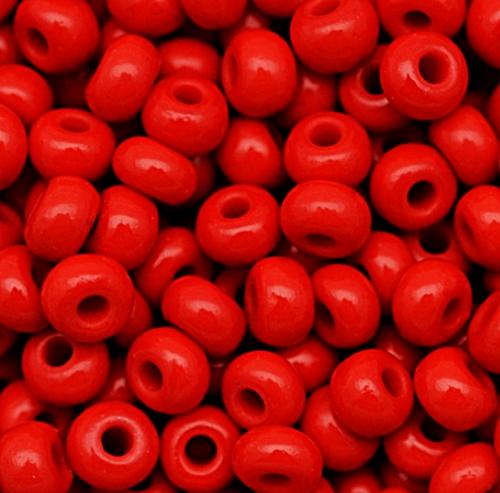 Miçanga Jablonex vermelha-5/0- (25grs)- MIÇ056