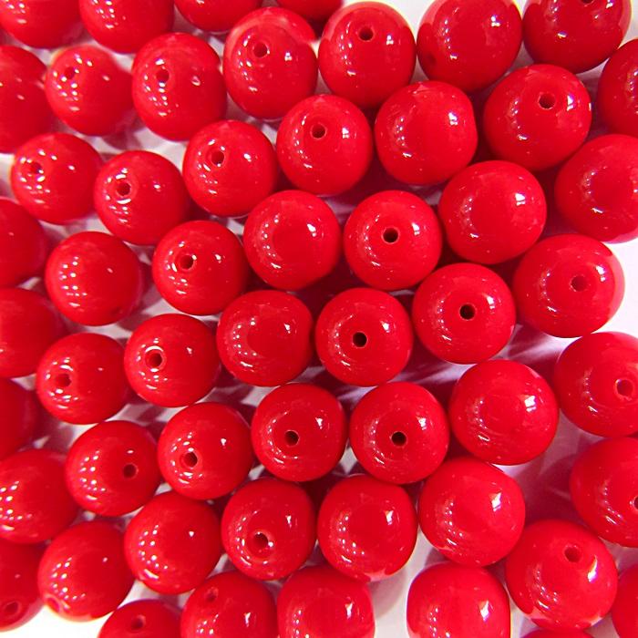 Porcelana tcheca Nº 08 vermelha (Atacado e Varejo)- POR003