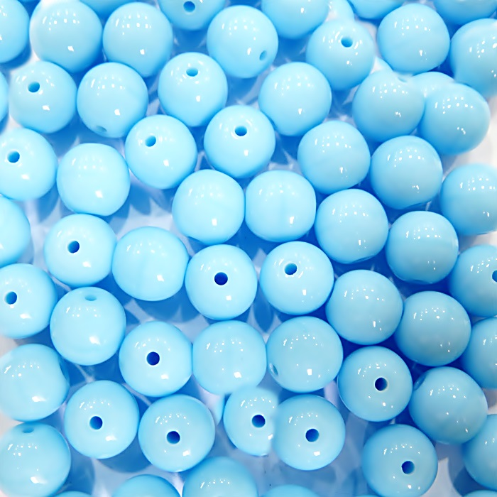 Porcelana tcheca Nº 08 azul claro  (Atacado e Varejo)- POR004