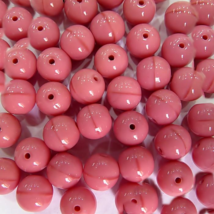 Porcelana tcheca Nº 08 Rosa (10 unidades)- POR007